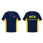 ACS (BR) Navy V Neck T Shirt