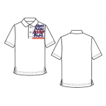 ACSJ White Corporate T-Shirt