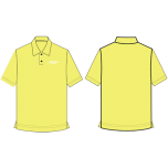 OWIS Yellow House Polo T-Shirt