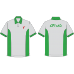 YIS Cedar House Polo T-Shirt (Green)