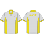 YIS Maple House Polo T-Shirt (Yellow)