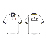 ACS (I) White Polo T-Shirt Cool Plus